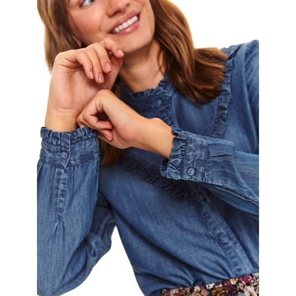 TOP SECRET дамска дънкова риза