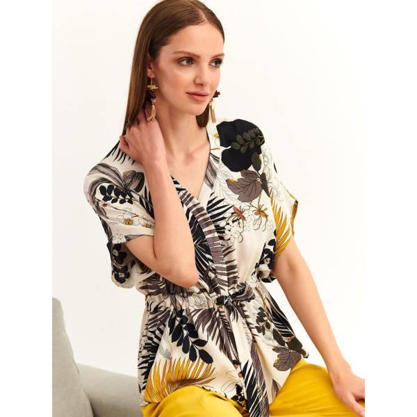 TOP SECRET дамска риза с флорални мотиви