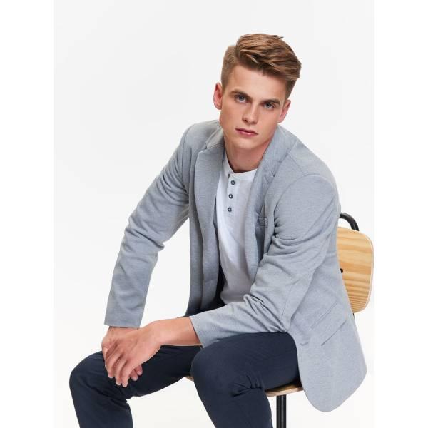 TOP SECRET мъжко елегантно вталено сако с две копчета
