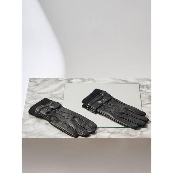 131ad4f2239 Top Secret мъжки кожени ръкавици - 015642