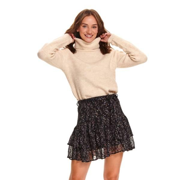 TOP SECRET дамска къса пола с волани