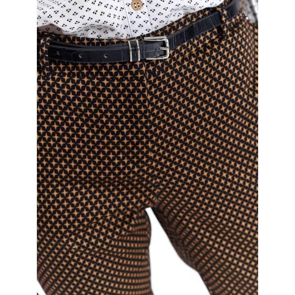 TOP SECRET дамски дълъг панталон с колан