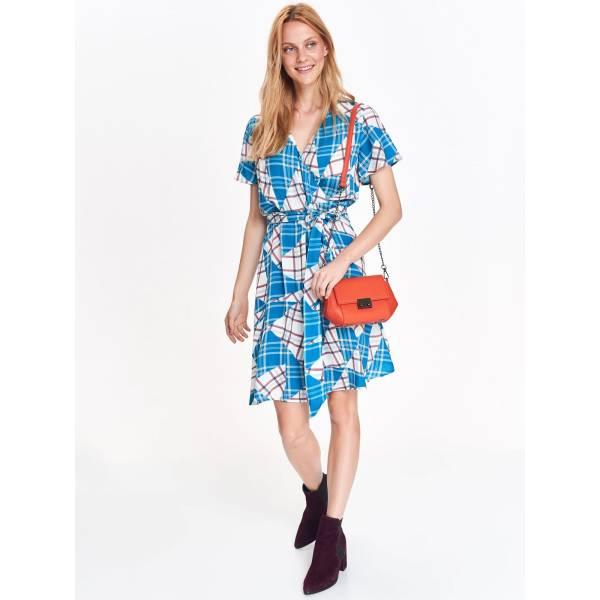 TOP SECRET дамска къса рокля с колан