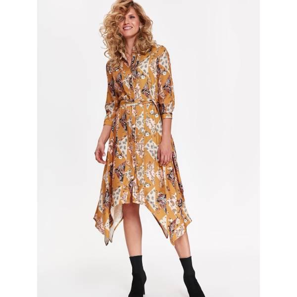 TOP SECRET дамска къса рокля с дълъг ръкав