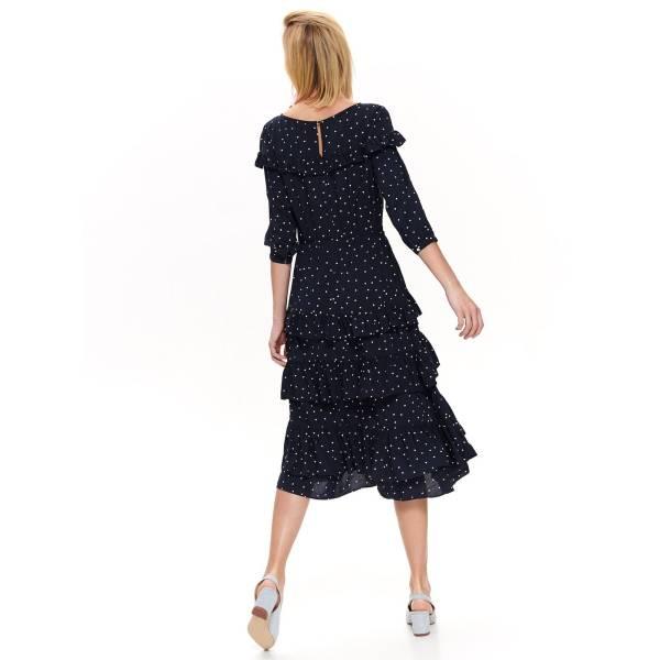 TOP SECRET дамска ефирна рокля с волани