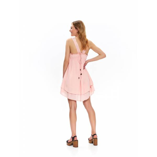 TOP SECRET дамска къса лятна рокля с презрамки