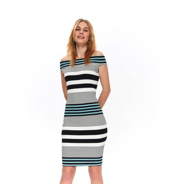 TOP SECRET дамска лятна рокля с десен на райе