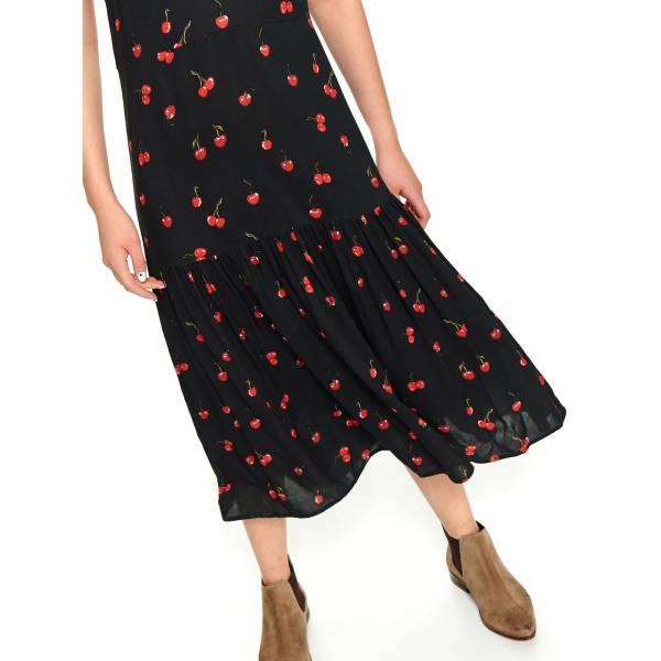 TOP SECRET дамска дълга рокля с набор