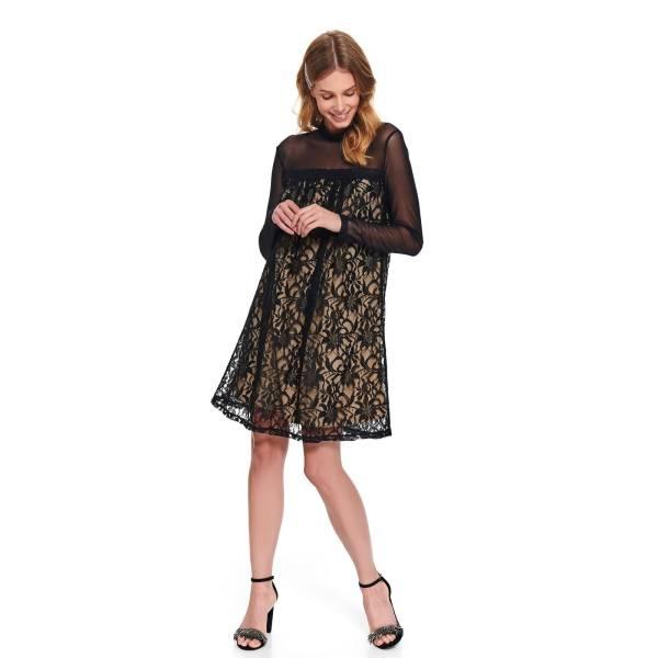 TOP SECRET дамска елегантна рокля с дантела