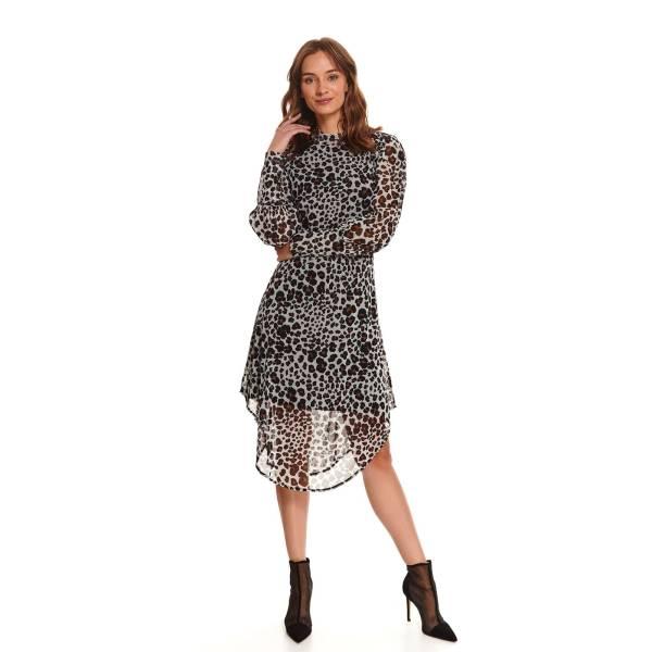 TOP SECRET дамска рокля с животински принт