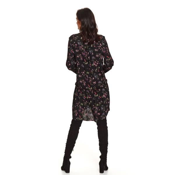 TOP SECRET дамска рокля пълен клош с дълъг ръкав