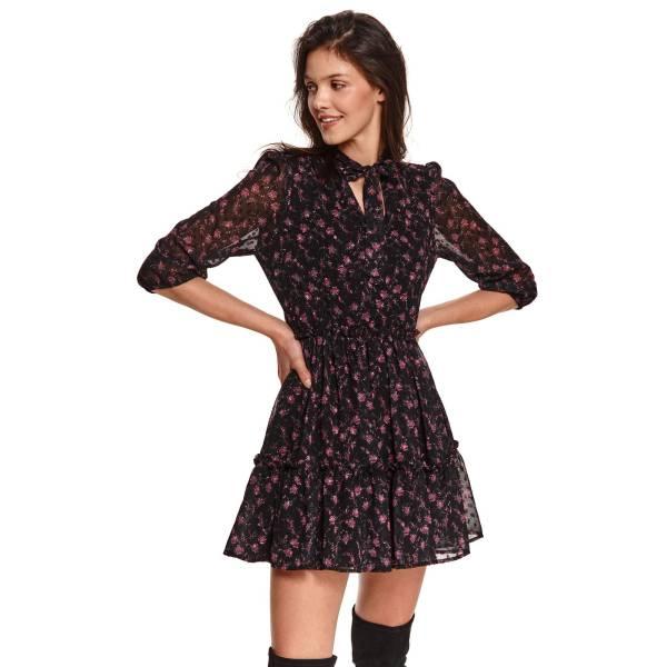 TOP SECRET дамска къса рокля с мотиви